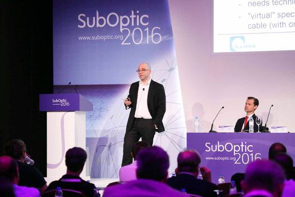 Papers session at the SubOptic 2016 submarine telecoms conference.