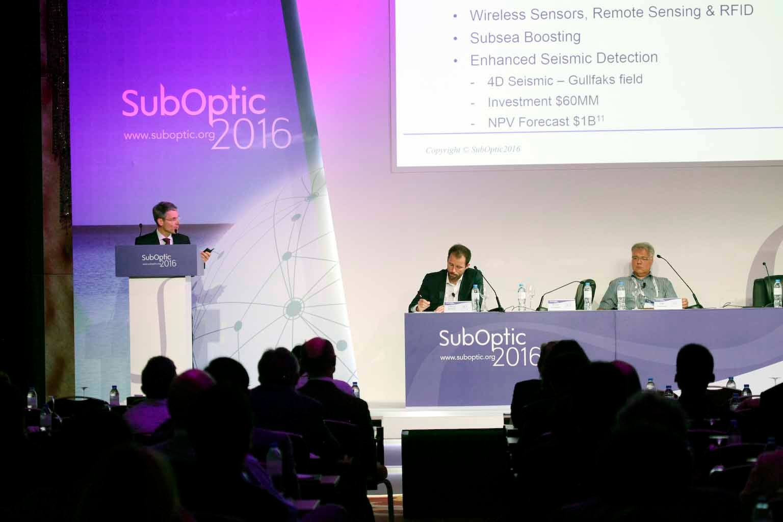 The SubOptic 2019 conference program will feature industry leading master classes.