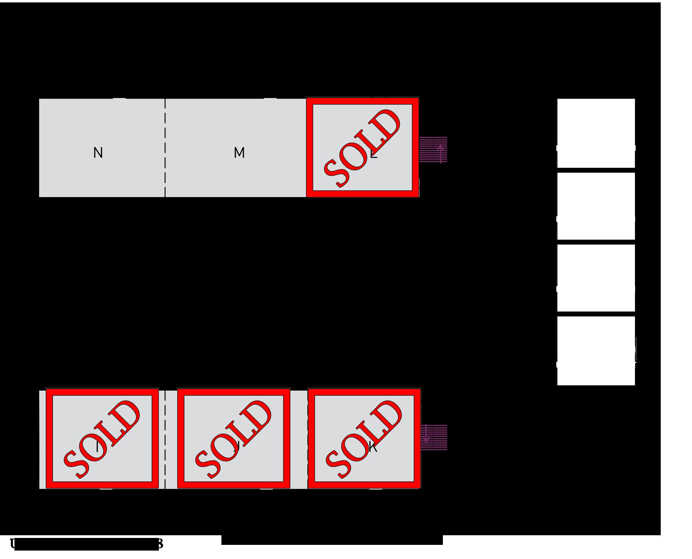 SubOptic 2019 Meeting Room floor plan.